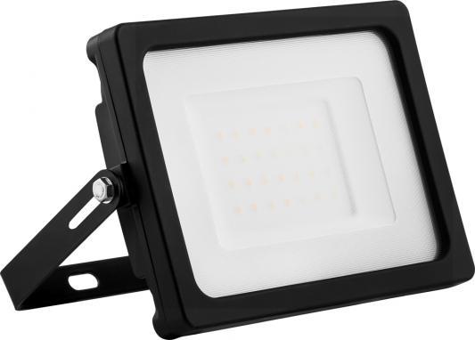 Прожектор светодиодный FERON LL-920 2835 smd 30w 6400k IP65 220в 50гц матовое стекло 140х186х32мм прожектор светодиодный feron 29494 2835 smd 20w 6400k ip65 белый с матовым стеклом ll 919