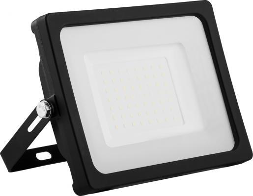 Прожектор светодиодный FERON LL-921 2835 smd 50w 6400k IP65 220в 50гц матовое стекло 160х210х35мм прожектор светодиодный feron 32104 2835 smd 150w 6400k ip65 черный с матовым стеклом ll 923
