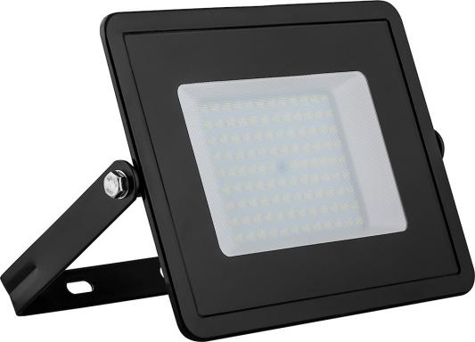 Прожектор светодиодный FERON LL-922 2835 smd 100w 6400k IP65 220в 50гц матовое стекло 195х267х38мм настенный прожектор feron ll 922 32103