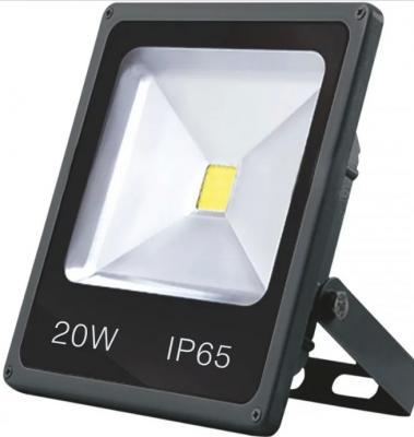 Прожектор светодиодный GLANZEN FAD-0002-20 20Вт 120° 220В 6000К 1600Лм алюм.179х138х40мм 0.51кг
