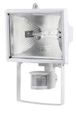 Прожектор UNIEL UPH-500W-WH-sensor 500 Ватт, с датчиком движения, галогенный, белый yeelight ночник светодиодный заряжаемый с датчиком движения