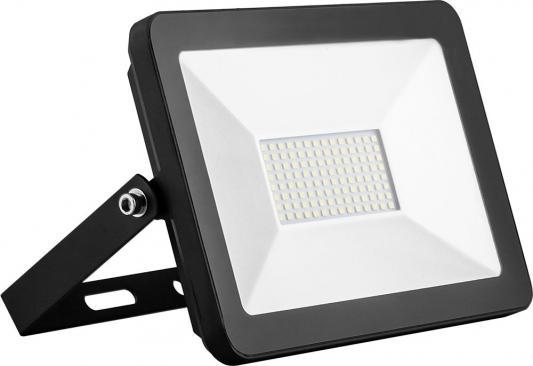 Прожектор светодиодный SAFFIT SFL90-50 2835 SMD 50W 6400k 220в 50гц IP65 черный 221х152х40мм