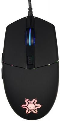 Мышь проводная Oklick 955G чёрный USB