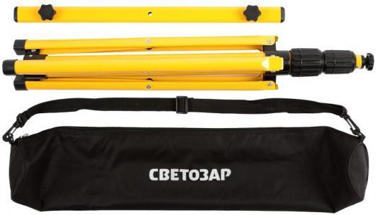 Штатив СВЕТОЗАР 56922-B переносной для 2-х прожекторов 1.6м сумка звонок электрический с кнопкой светозар аккорд 58036