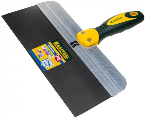 Шпатель KRAFTOOL 10036-300 фасадный с 2-хкомп.ручкой нержавеющее полотно 300мм фасадный шпатель профи 300мм fit hq 06444