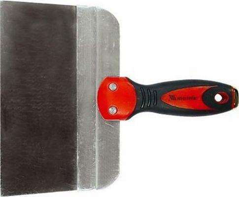 Шпатель MATRIX 85502 фасадный из нержавеющей стали 200мм 2-комп. ручка широкое полотно цена