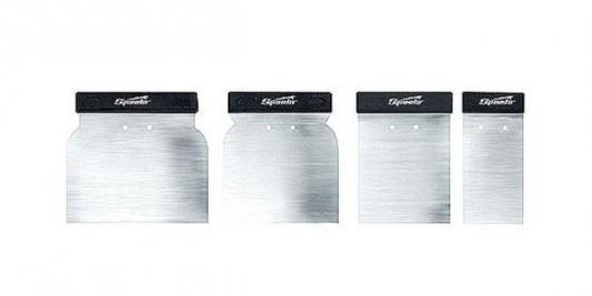 Шпатель SPARTA 852605 набор шпателей японских стальных 60-80-100-120мм 4 шт шпатель sparta 858275