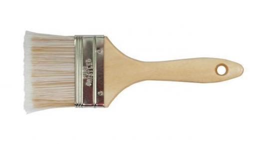 Кисть флейцевая FIT 01205 аква искусственная щетина деревянная руч. 2 (50 мм) кисть флейцевая курс 00818 оптима натур щетина деревянная руч 4
