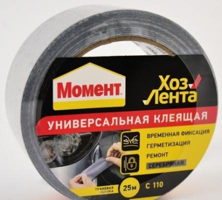 Клеящая Хозяйственная лента HENKEL МОМЕНТ (25м) 1161083 цены