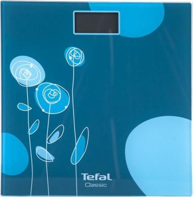 Весы напольные Tefal PP1148V0 синий голубой рисунок 2100101969