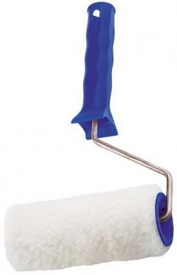 Валик СИБРТЕХ 80112 из искусственного меха с ручкой 150мм ворс 15мм d - 48мм d ручки - 6мм валик с шубками сибртех