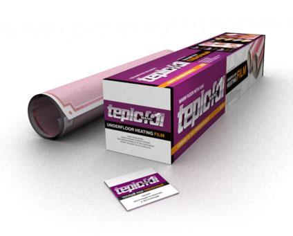 Теплый пол TEPLOFOL Nano TH-530-3.8  530Вт 3.8м2 пленочный, под ламинат/паркет/ковролин/линолеум