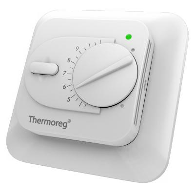 Терморегулятор THERMO Thermoreg TI-200 электр. 3600Вт глуб.18мм цена