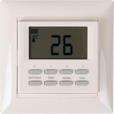 Терморегулятор SPYHEAT NLC-527H беж. програмируемый +5до+40С бежевый настенная плитка lb ceramics вестанвинд белый 20x60