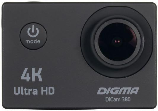 Экшн-камера Digma DiCam 380 черный hp ac100 экшн камера