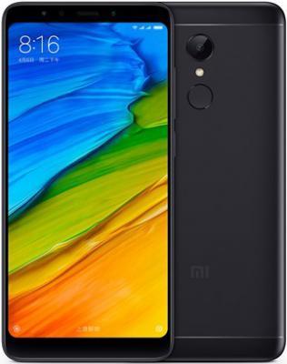 Смартфон Xiaomi Redmi 5 32 Гб черный (Redmi5BL32GB) смартфон xiaomi redmi 6 32 гб золотистый redmi6gld32gb