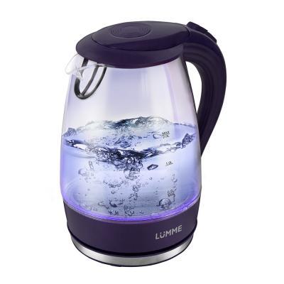 Чайник Lumme LU-216 2200 Вт темный топаз 2 л пластик/стекло