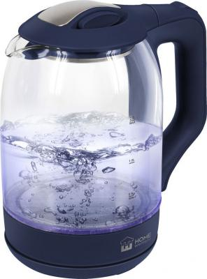 Чайник HOME ELEMENT HE-KT181 1800 Вт синий сапфир 2 л пластик/стекло