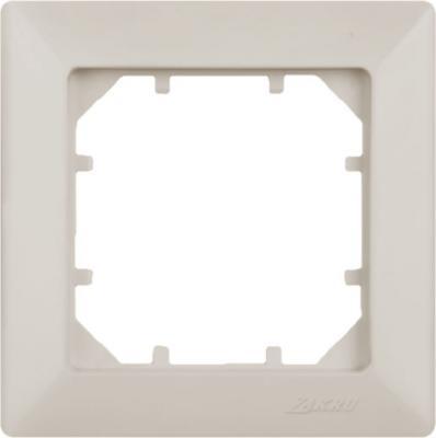 Рамка ZAKRU CLASICO ZA215401 (Сл.Кость) 1 пост