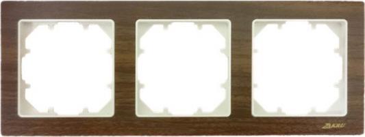 Рамка ZAKRU CLASICO ZA215403 (дерево) 3 пост цена