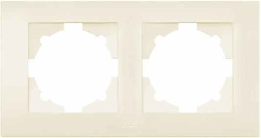 Рамка ABB COSMO 612-010300-226 кремовый 2 постовая