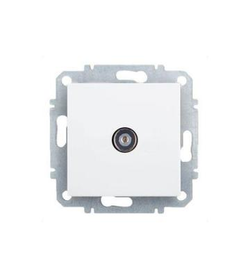 Розетка ZAKRU CLASICO ZA215408 (Сл.Кость) ТВ IEC 61169-2:2007 (9.52mm)