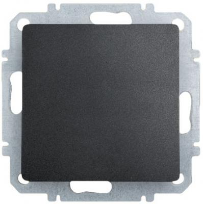 Выключатель ZAKRU CLASICO ZA215412 (Черный) Встраиваемый 230В/50Гц