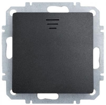 Выключатель ZAKRU CLASICO ZA215413 (Черный) Встраиваемый 230В/50Гц