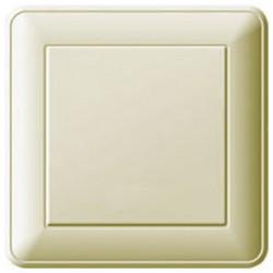 Выключатель WESSEN VS116-154-28 59 Бежевый 1-клавишный 16А сх.1 в сборе с рамкой