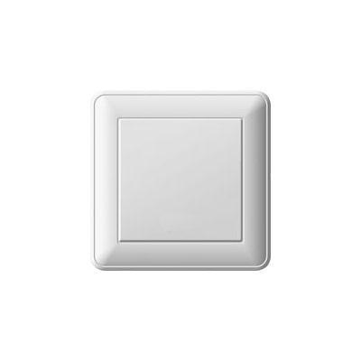 Выключатель WESSEN 59 VS116-154-18 Белый 1-клавишный 16А сх.1 в сборе с рамкой
