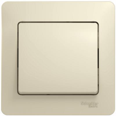 Выключатель SCHNEIDER ELECTRIC 275186 Glossa 1-кл. сп беж. gsl000212