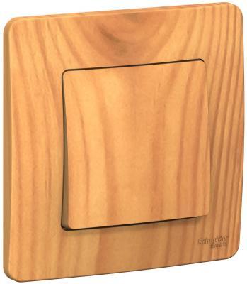 Выключатель SCHNEIDER ELECTRIC BLNVS010105 Blanca 1-кл. сп сх.1 10А 250В ясень