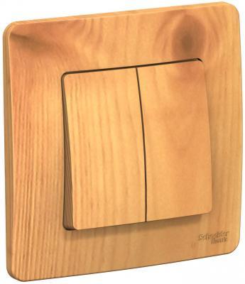 Выключатель SCHNEIDER ELECTRIC BLNVS010505 Blanca 2-кл. сп сх.5 10А 250В ясень