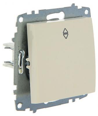 Переключатель ABB COSMO 619-010300-209 кремовый 1 кл. сх. 6