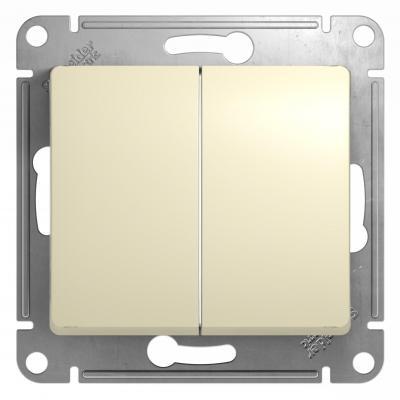 Механизм выключателя SCHNEIDER ELECTRIC GSL000251 Glossa 2-кл. беж.