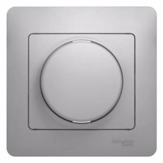 Механизм светорегулятора SCHNEIDER ELECTRIC 275149 Glossa светорегулятор сп 600Вт/ва универс. бел. светорегулятор tdm таймыр белый rl 600вт sq1814 0024