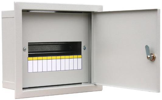 Щит распределительный RUCELF ЩРВ-12 IP31 встраиваемый 250х300х120мм щит учетно распределительный rucelf щру 3н 12 ip31 навесной 500х300х155мм