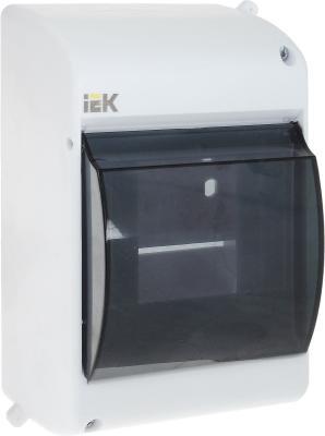 Бокс ИЭК КМПн 2/4 MKP42-N-04-30-12 пластиковый навесной розетка кабельная iek 135 3p pe n