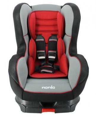 Автокресло Nania Cosmo SP LX Isofix (red)