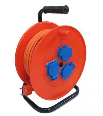 Удлинитель Lux УХз16-003 50 м 3 розетки удлинитель силовой lux ухз16 003 50м