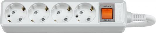 Сетевой фильтр DAESUNG MC2045 5м 16а 3.2кВт 3х1.5мм2 4 розетки с заземлением (20)