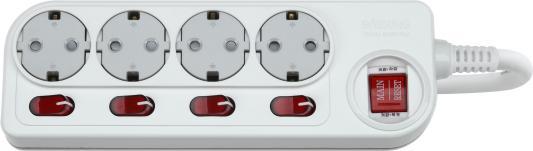 Сетевой фильтр DAESUNG ACM2043 3м 16а .2кВт 3х1.5мм2  розетки  заземлением()