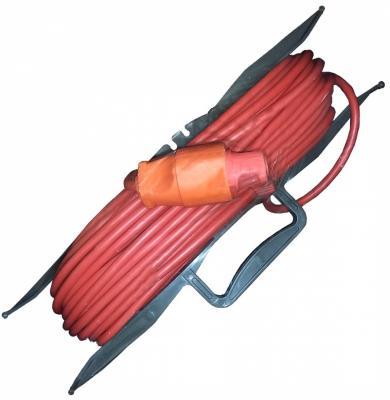 Удлинитель силовой на рамке GLANZEN ER-20-001 ПВС 2*0.75 20м удлинитель glanzen 3m eu 03 02z