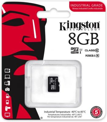 Карта памяти Micro SDHC 8GB Class 10 Kingston SDCIT/8GBSP цена и фото