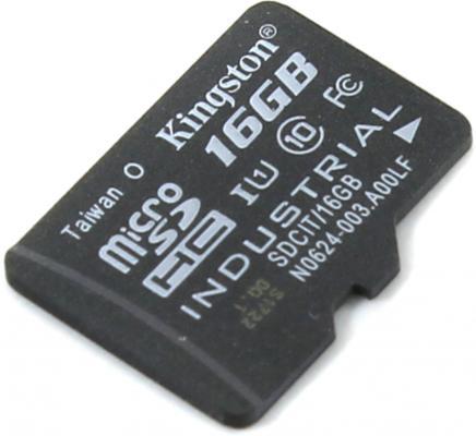 Карта памяти Micro SDHC 16GB Class 10 Kingston SDCIT/16GBSP