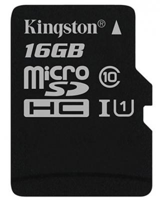 Карта памяти Micro SDHC 16GB Class 10 Kingston SDCS/16GBSP