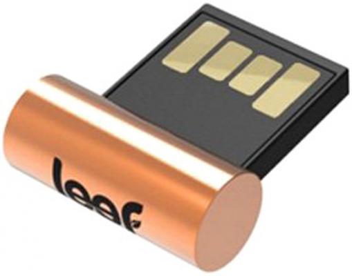 Флешка USB 16Gb Leef Surge LFSUR-016COP золотистый leef bridge lfbri 032gkr 32gb usb microusb black