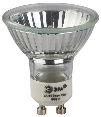 Лампа галогенная ЭРА GU10-JCDR (MR16) -50W-230V (10/200/4800)
