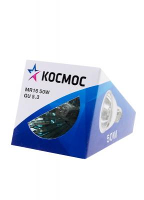 Лампа галогенная с отражателем КОСМОС 12В/50Вт GU5.3 цена
