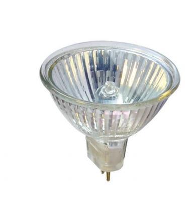 Лампа галогенная АКЦЕНТ JCDR 230В 50W GU5.3 с отражателем и защитным стеклом лампа галогенная акцент mr16 12в 20w 36° gu5 3 с отражателем и защитным стеклом